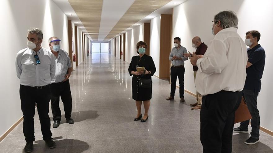 Finaliza la obra del aulario del campus de Ciencias de la Salud de la Universidad de Murcia