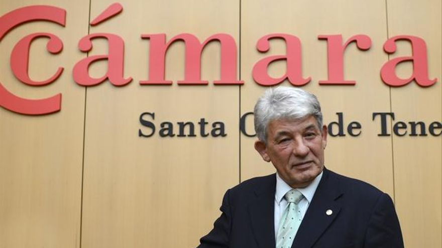 José Luis García, presidente de la Cámara de Comercio de Santa Cruz de Tenerife.