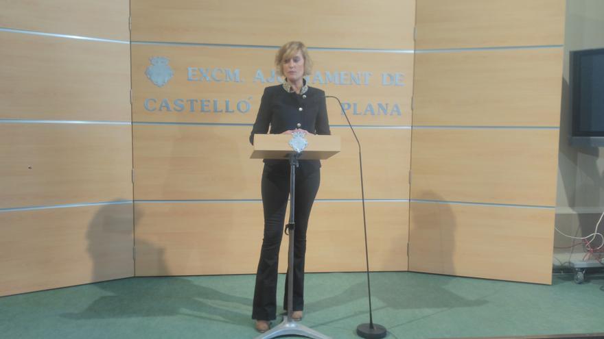 Verónica Ruiz, concejal de Cultura y portavoz del Gobierno local de Castelló.