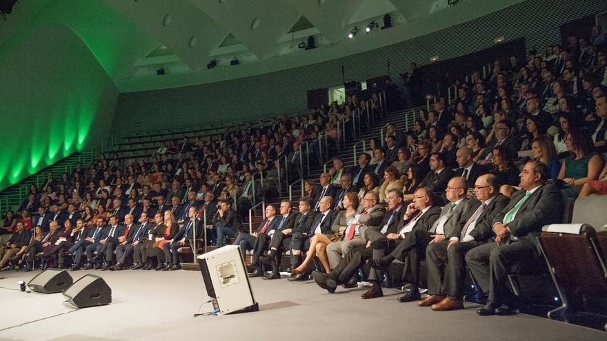 La convención anual se celebró en el Auditorio Adán Martín.
