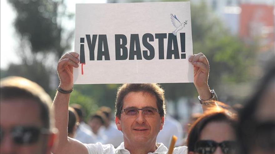 Manifestación en Jalisco para pedir paz ante la ola de violencia