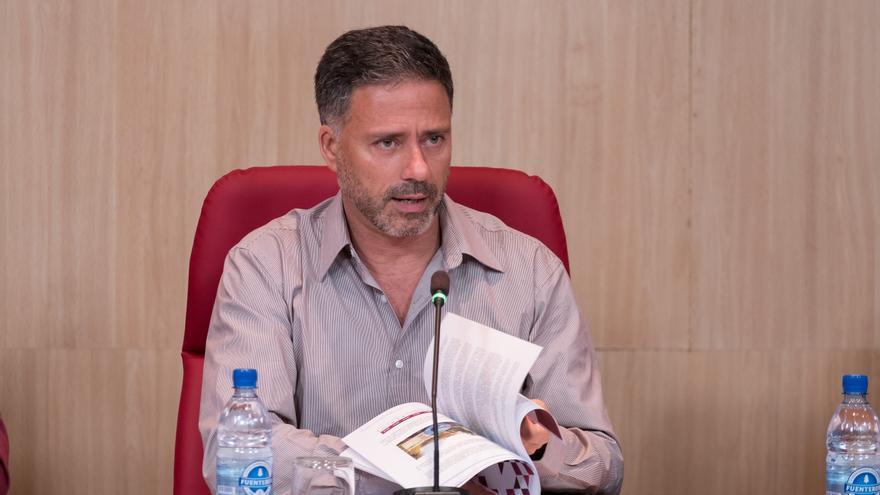 El consejero de Medio Ambiente y Emergencias del Cabildo de Gran Canaria, Miguel Ángel Rodríguez.