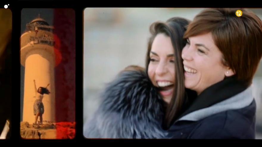Ruth Lorenzo y Samanta Villar en el vídeo promocional de 'Samanta y la vida de'