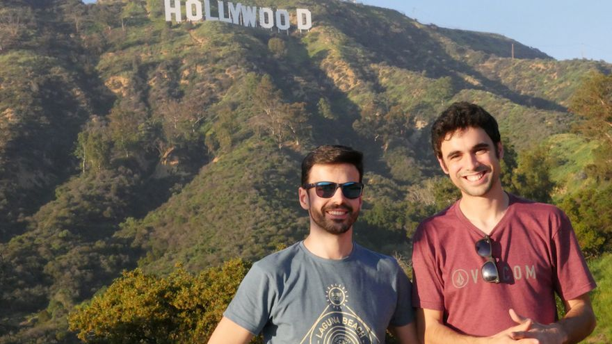 Pablo y Hugo en Hollywood