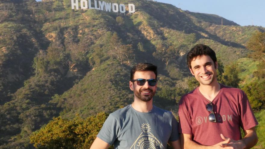 Pablo y Hugo en Hollywood