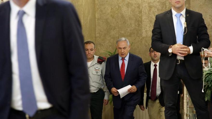 Netanyahu atribuye a su Gobierno la disminución de la violencia en la región
