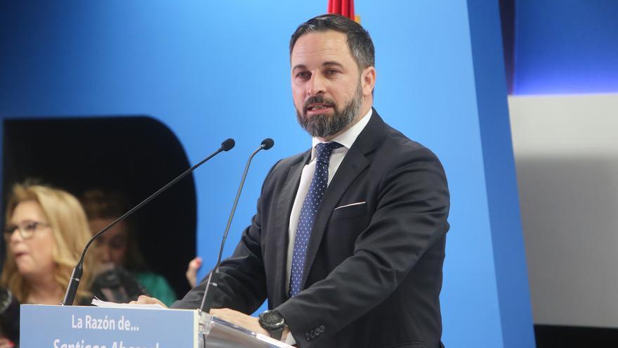 """Abascal proclama a Vox como """"el gran ganador de las próximas generales"""" por """"doblegar la rodilla"""" de Sánchez"""