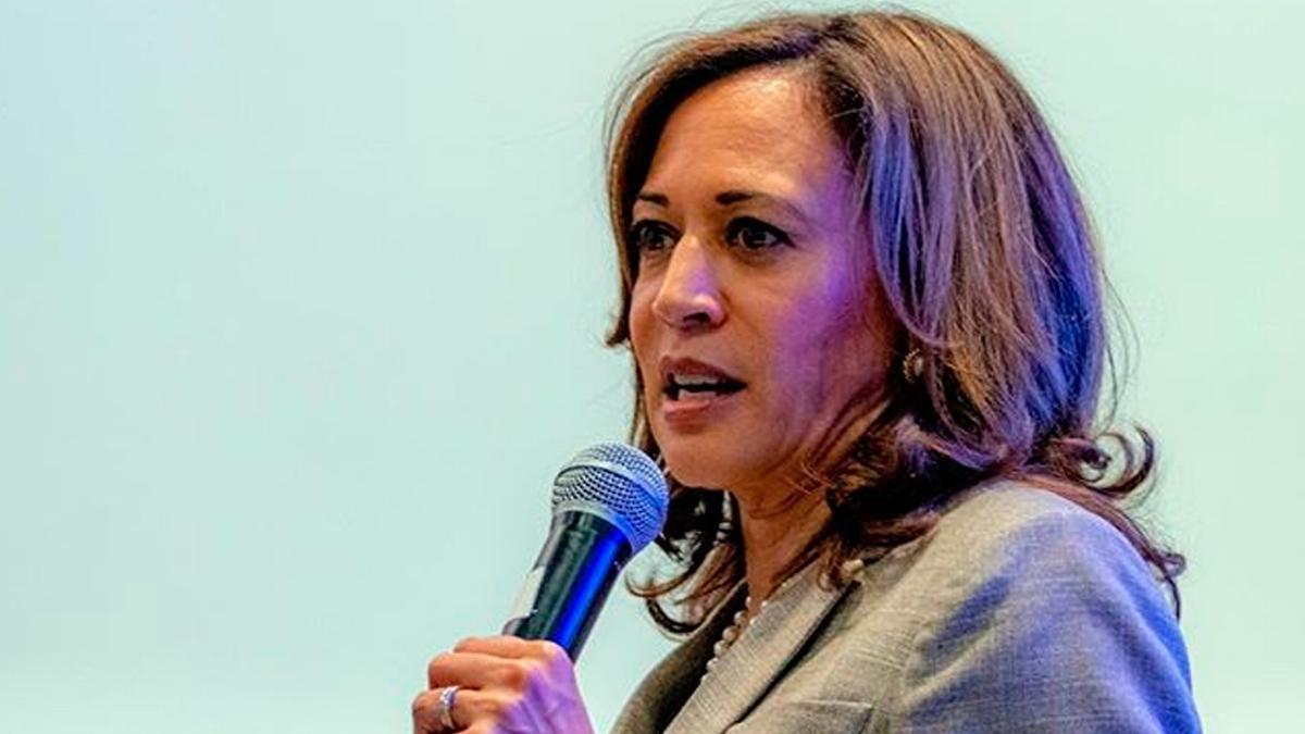 La vicepresidenta de EEUU, Kamala Harris