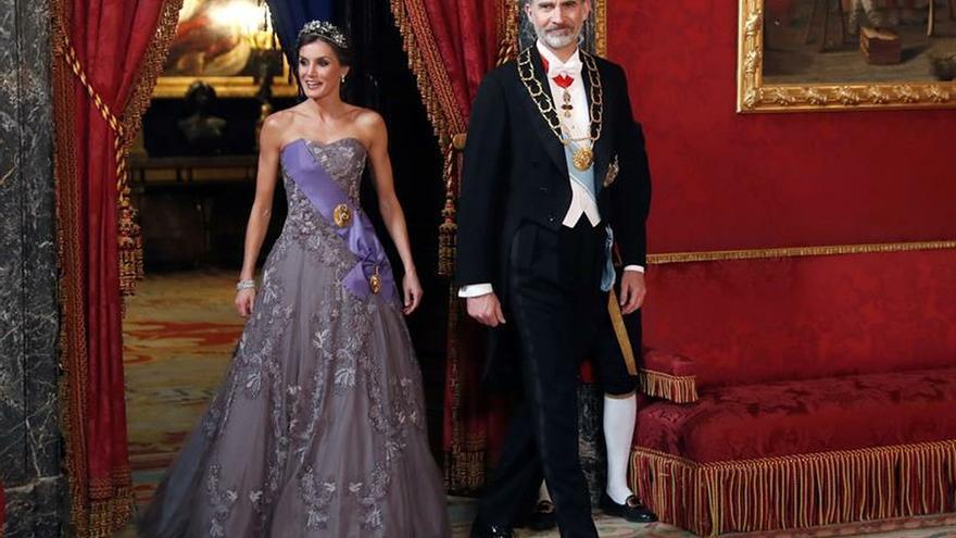 Felipe VI y doña Letizia conmemoran hoy sus cinco años de reinado