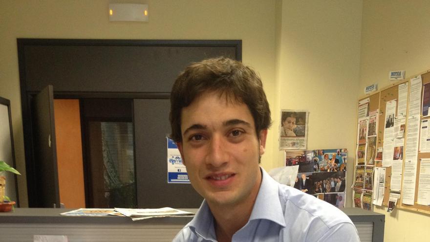 Luis Paniagua está al frente de Nuevas Generaciones de Andalucía.