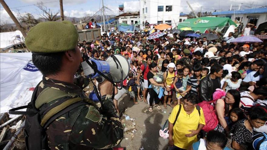 La ONU urge más rapidez en la entrega de ayuda en la devastada Filipinas./ Imagen: Efe