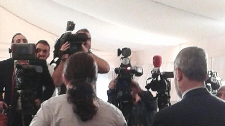 """Pablo Iglesias reivindica el pacto del 78 pero pide reformar la Constitución en """"una nueva Transición"""""""