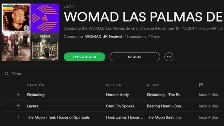 Una lista de Spotify para que vayas haciéndote el oído al Womad de Las Palmas de Gran Canaria