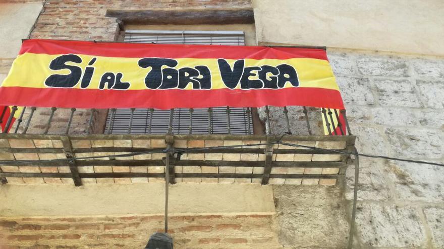 """""""Sí al toro de la Vega"""""""