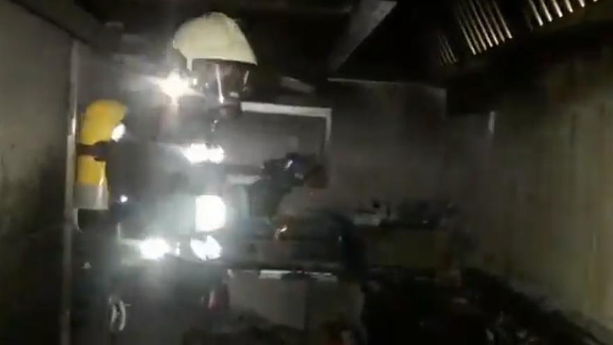Archivo - Incendio en un bar de Santoña