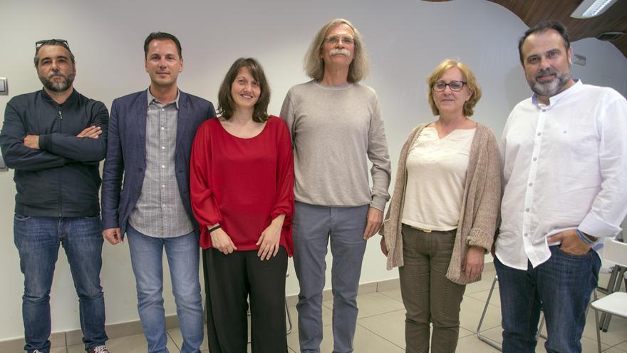Participantes en las Jornadas de Ganemos Toledo por el Acuerdo Social del Agua
