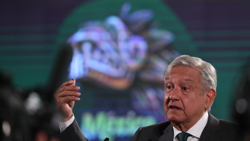 Harris llega al Palacio Nacional de México para reunirse con López Obrador