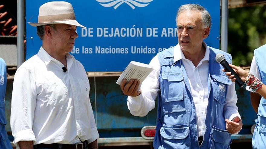 La ONU concluye el desmantelamiento de escondites de armas de las FARC