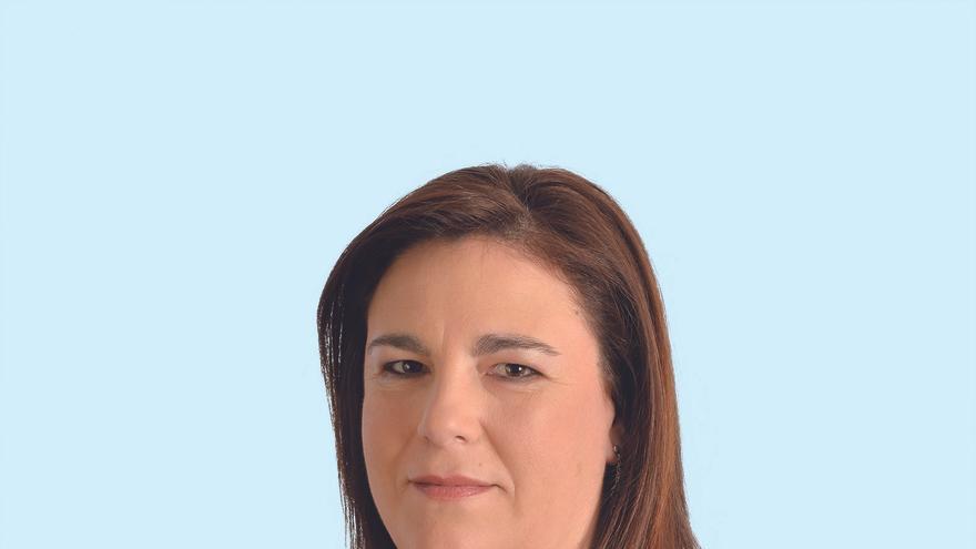 Esther Merino, candidata del PP a la Alcaldía de Cabezón de la Sal.