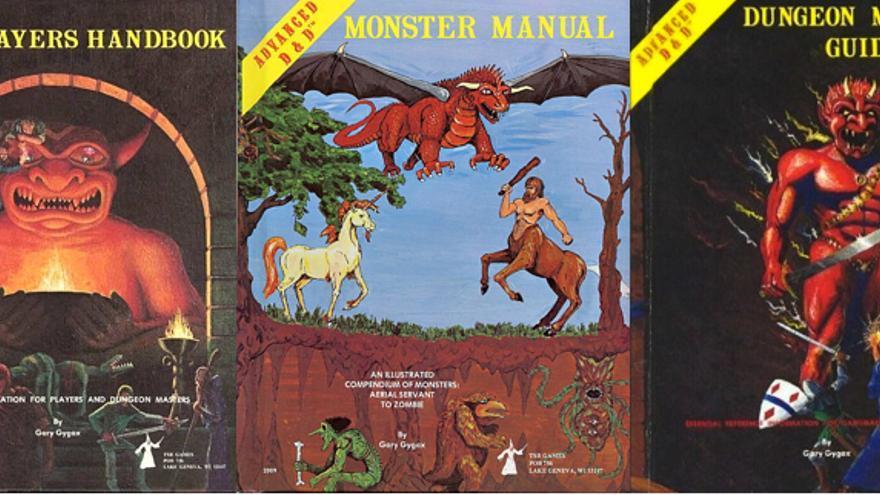Libros originales de Dragones y Mazmorras