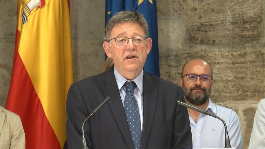 """Puig dice que acata la decisión sobre Otegi aunque no le agrada """"que se pierdan los derechos políticos de las personas"""""""