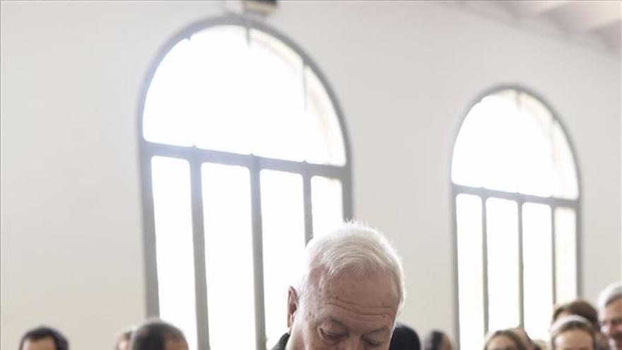 Margallo señala la alta participación como buena noticia para la democracia