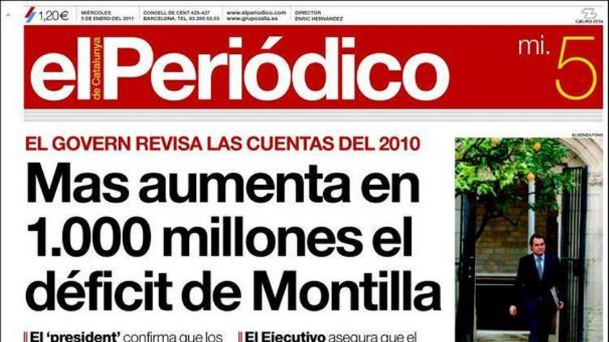 De las portadas del día (05/01/2011) #8