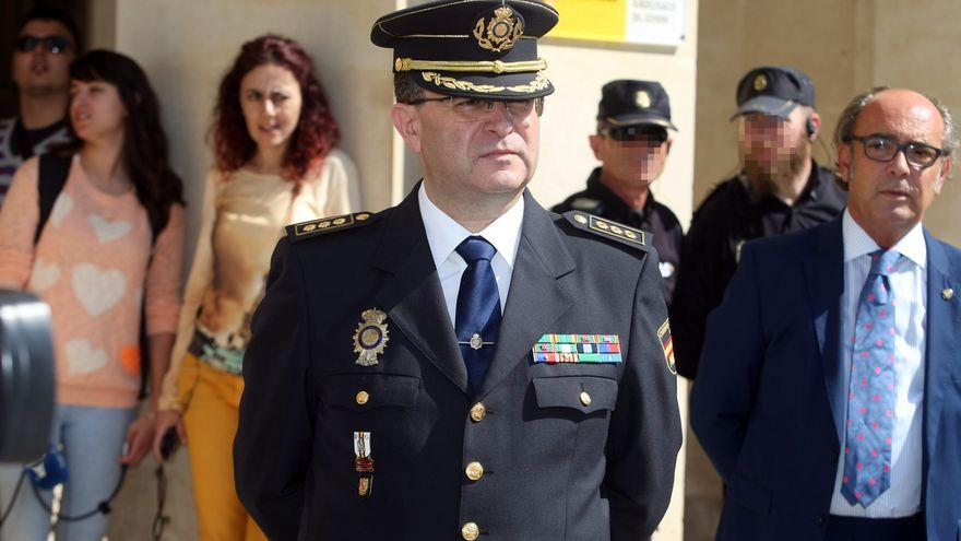 José Javier Causante, el hasta ahora comisario jefe de la Policía Nacional en la Comunitat Valenciana