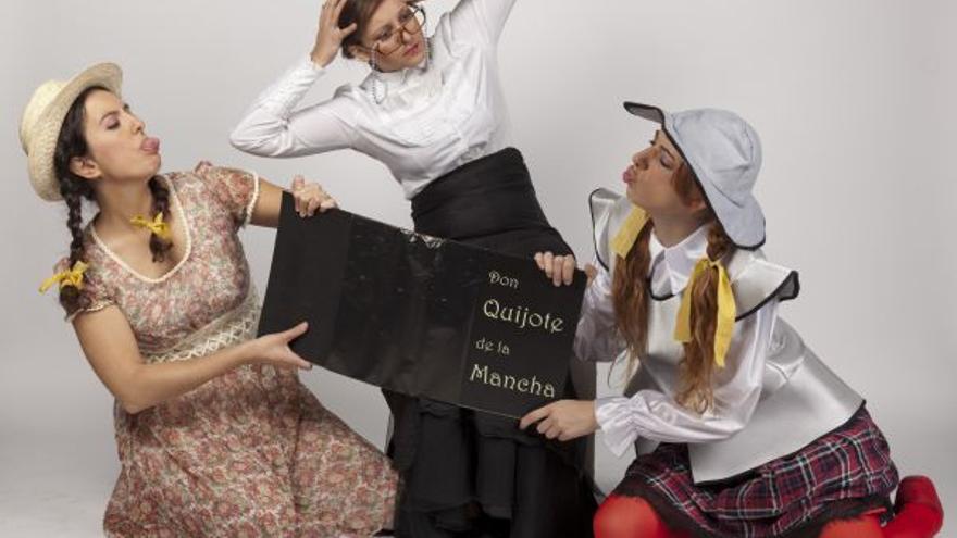 'Quiero ser el Quijote' / Compañía de Itea Benedicto