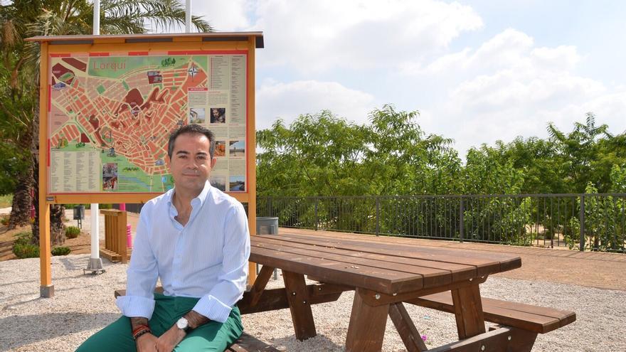 El alcalde socialista de Lorquí, Joaquín Hernández