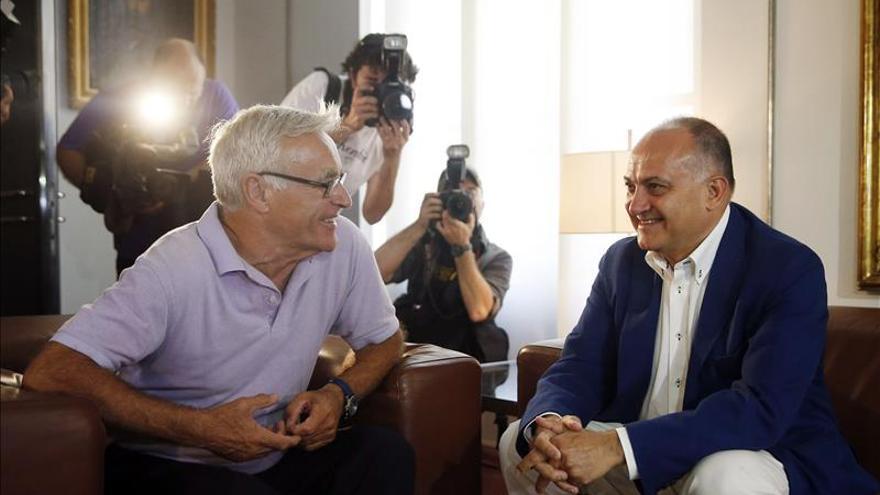 El PSPV apoyará a Ribó como alcalde de Valencia y podría integrar el gobierno