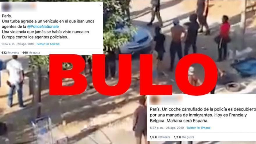 Bulo sobre una agresión en París