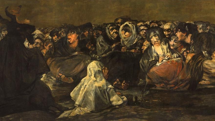 'El aquelarre o El gran cabrón' (1820 – 1823), de Goya