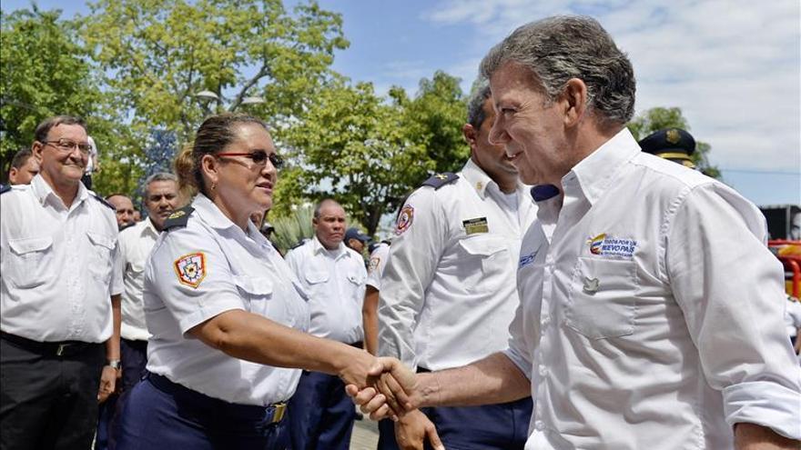 Santos anuncia 2,2 millones de dólares para las regiones afectadas por incendios
