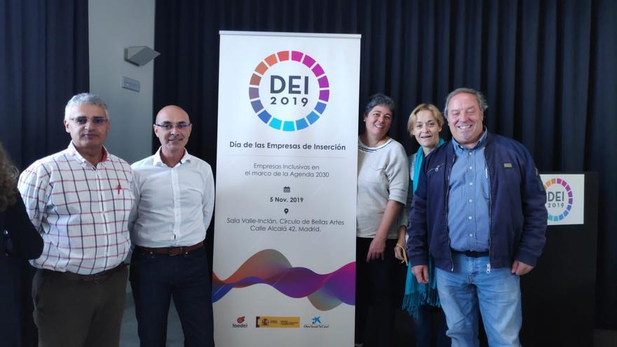 Miembros de la entidad social Isonorte de La Palma.