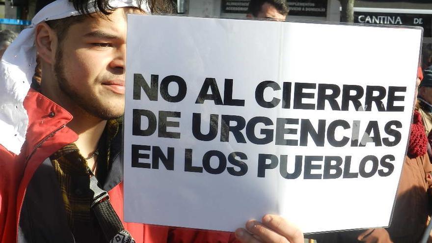 Manifestación en Valladolid por la sanidad pública