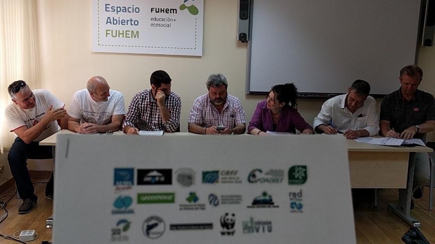 Representantes de ONG ambientales / Fundación Nueva Cultura del Agua