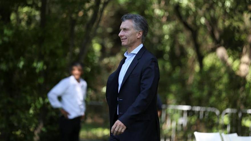 """Macri dice que """"esta vez nos hemos decidido como país a hacer las cosas bien"""""""