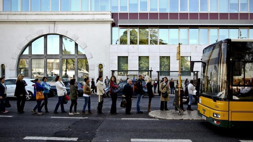 Los trabajadores vuelven a parar el metro de Lisboa por tercera vez este mes