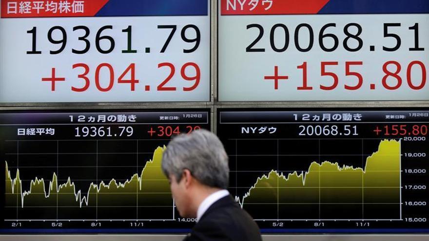 La Bolsa de Tokio abre con un avance del 0,03 % hasta los 19.208,18 puntos