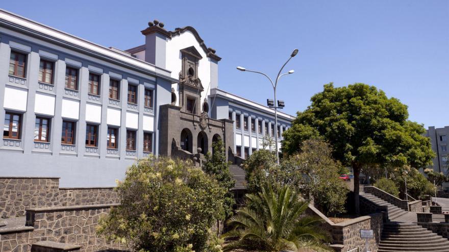 Campus central de la Universidad de La Laguna.