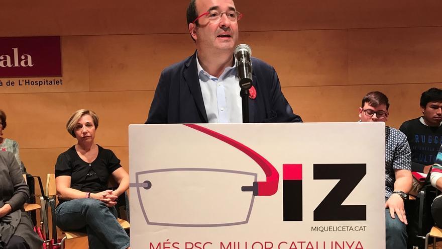 """Iceta ve """"mejor"""" ir a terceras elecciones que facilitar la investidura de Rajoy"""