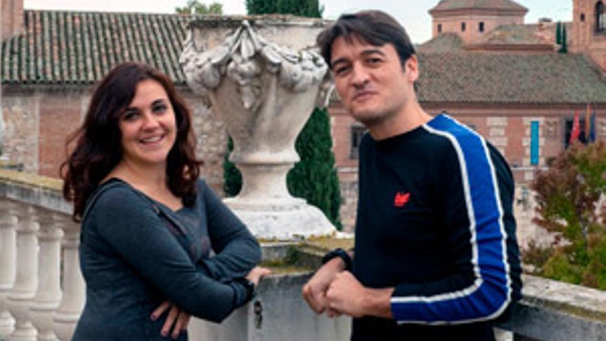 Luana Bruno y Alejandro Iborra