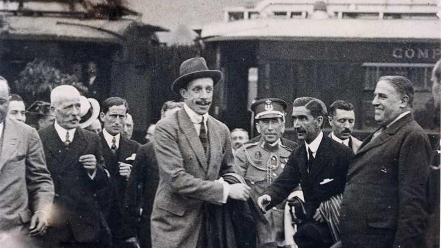 El Caminito del Rey revive la visita del rey Alfonso XIII a las pasarelas con pases teatralizados