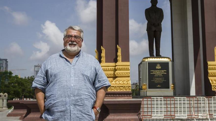 El biógrafo real, un chileno dentro de la monarquía de Camboya