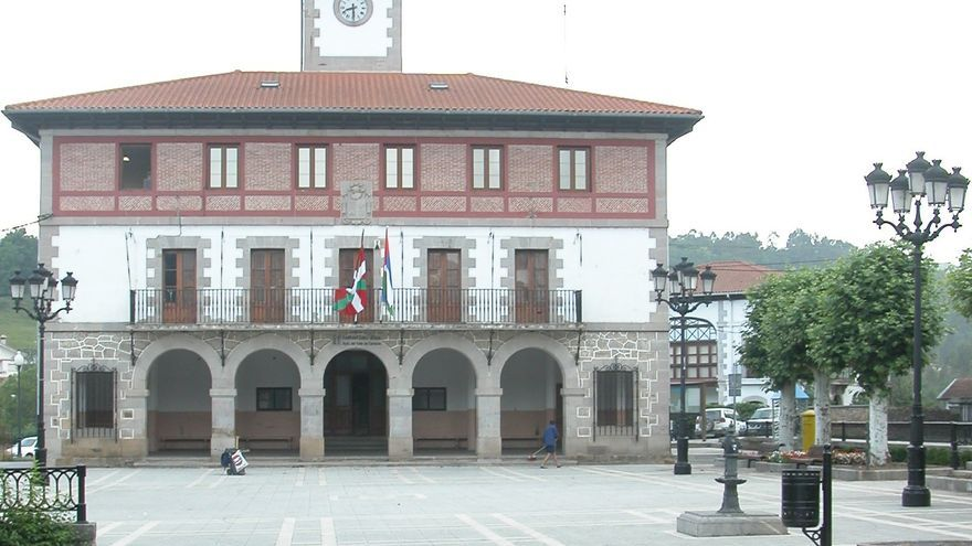 Ayuntamiento de Karrantza, en Bizkaia