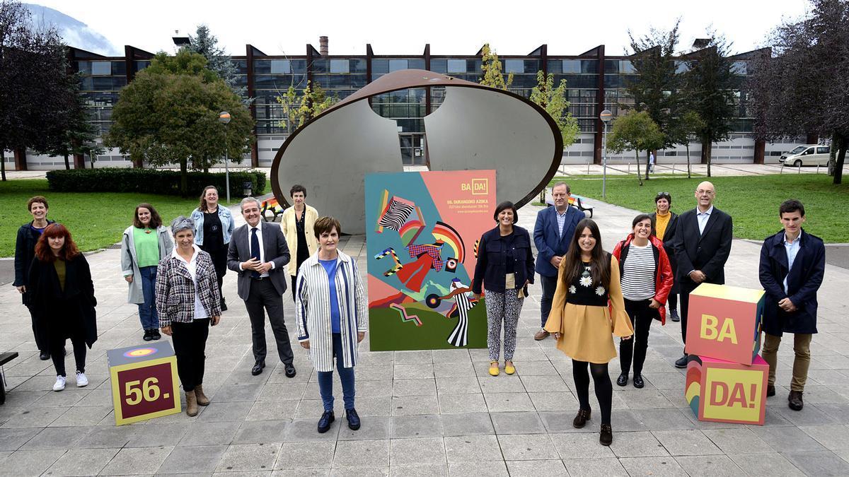 Organizadores de la Feria de Durango durante la presentación de la 56. edición