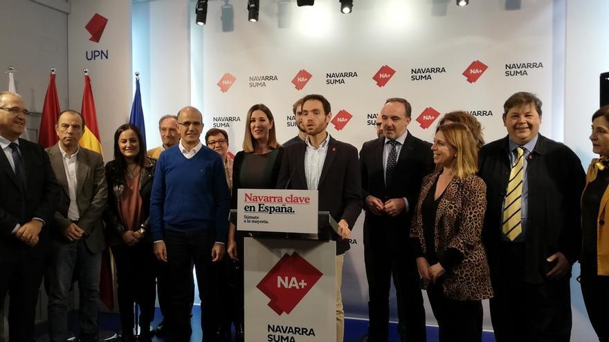 """NA+ se presenta como la única opción para que Sánchez """"no sea presidente con los votos de los independentistas"""""""