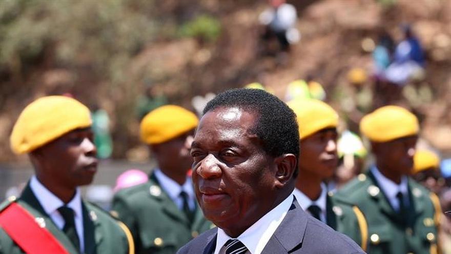 Emmerson Mnangagwa, elegido nuevo presidente de Zimbabue tras la dimisión de Mugabe.