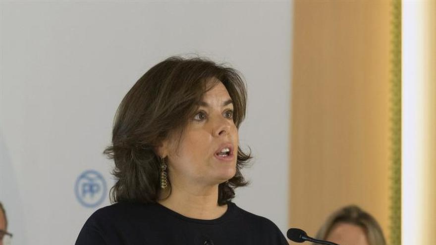 S. Santamaría: Euskadi ayuda a la estabilidad de España con pactos con el PNV